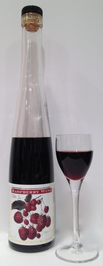 Raspberry Dessert Wine, findingourwaynow.com