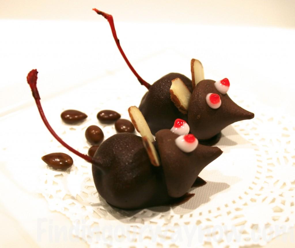 Chocolate Cherry Mice Candy, findingourwaynow.com