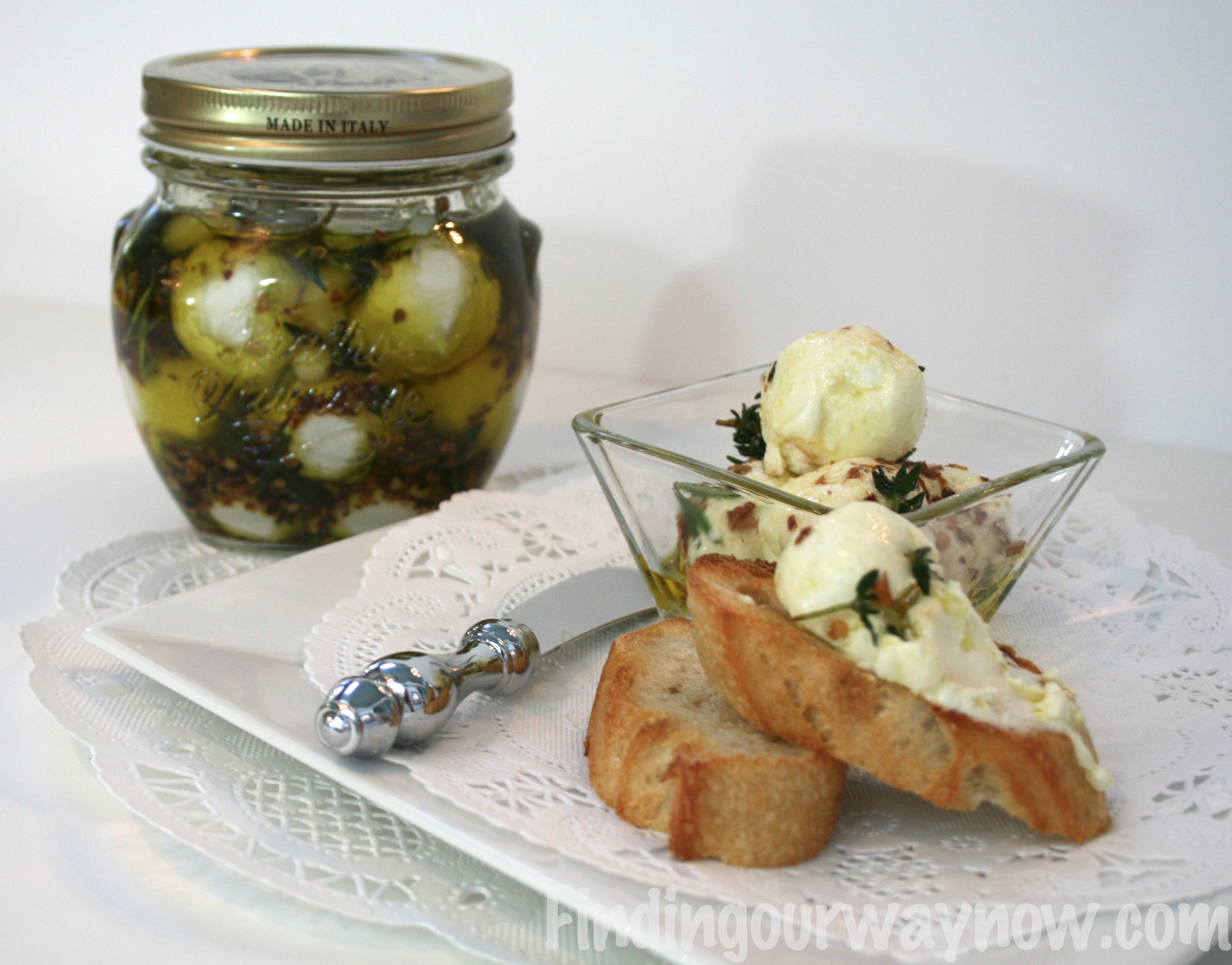 Marinated Goat Cheese Balls: Recipe - Finding Our Way Now