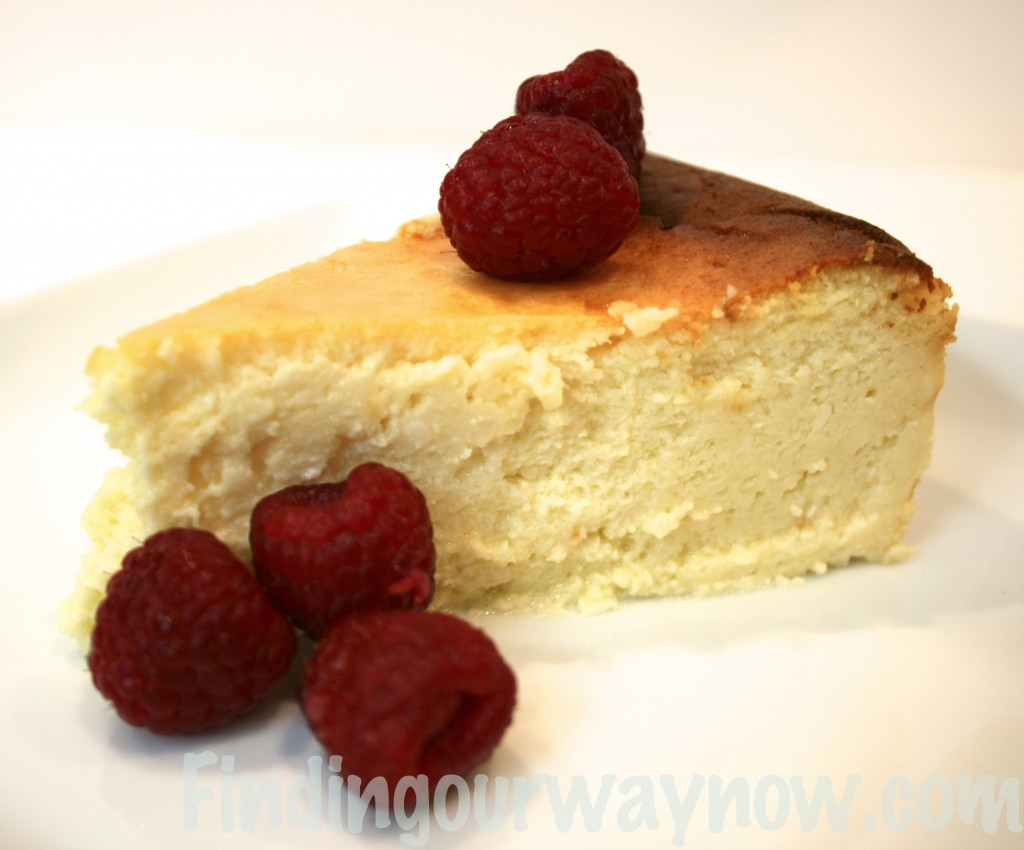 Homemade Italian Cheesecake, findingourwaynow.com
