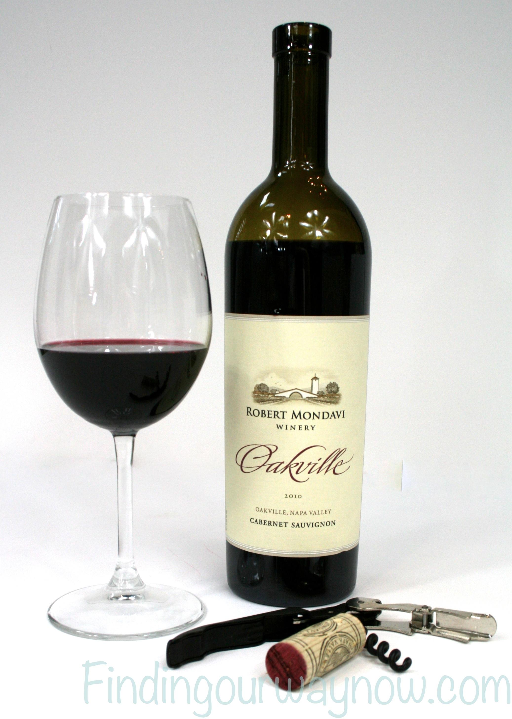 Robert Mondavi Oakville Cabernet Sauvignon 2010 Wine